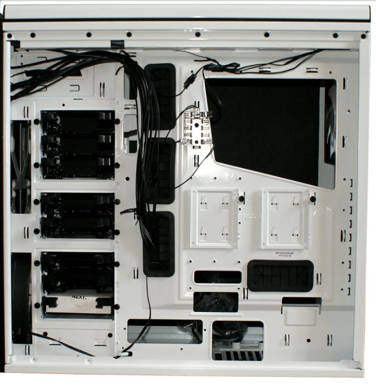 Wnętrze obudowy komputera