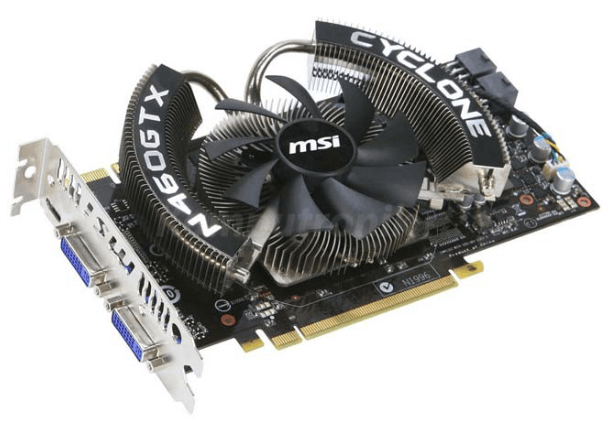 MSI GeForce GTX 460