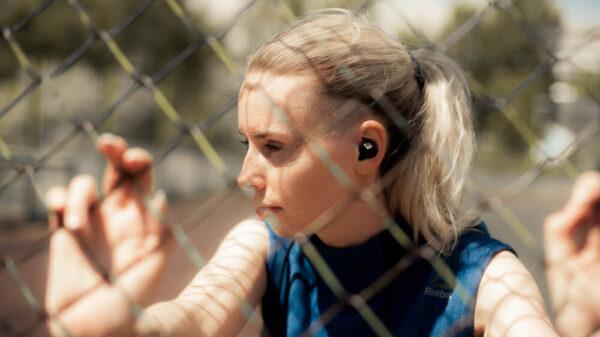 douszne słuchawki bezprzewodowe